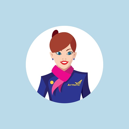Flight Attendant Resume Photo