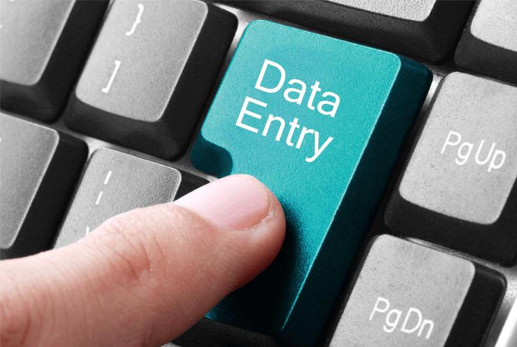 data entry resume photo