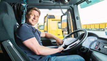 truck driver resume photo