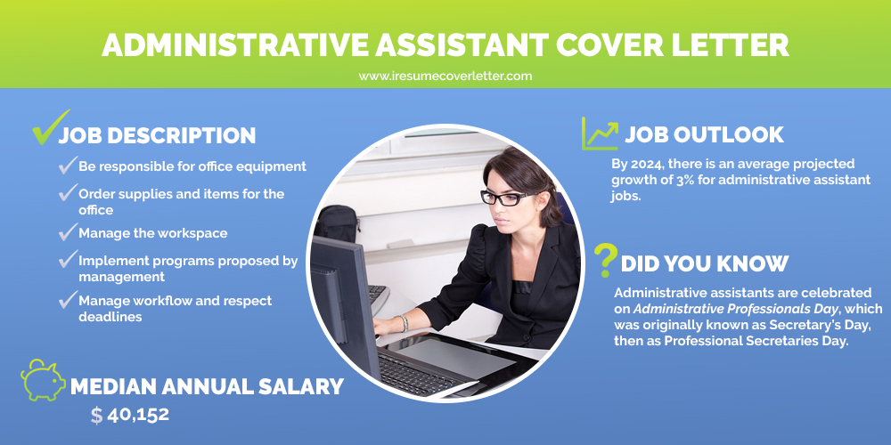 administrative assistant infographic