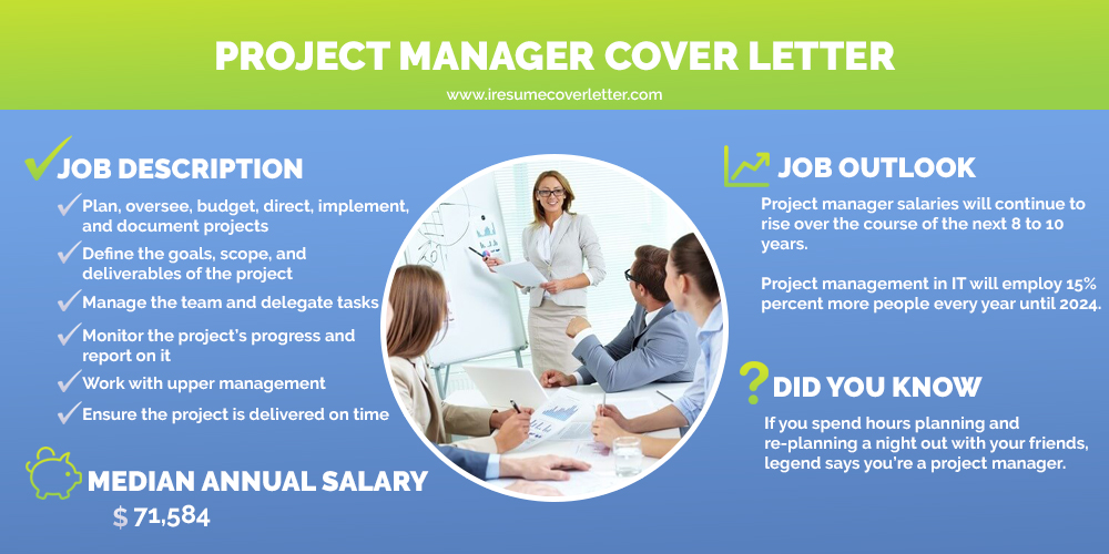 project manager infographic